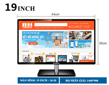 màn hình 19 inch HMDMI