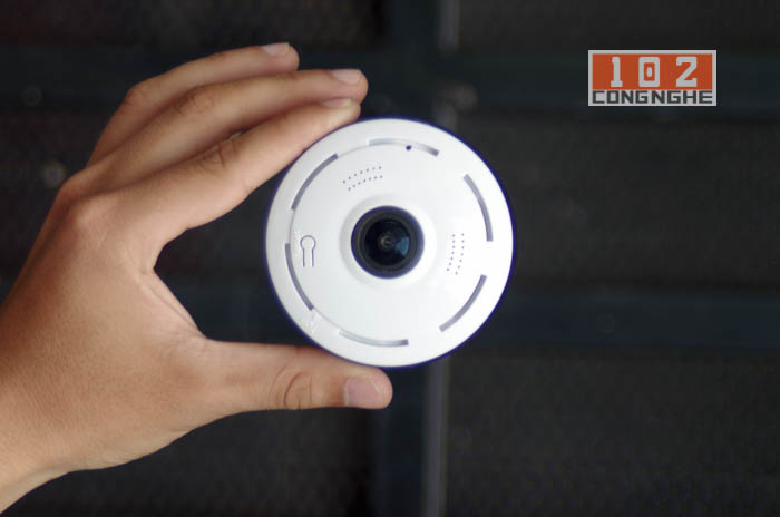 Camera IP Wifi V380 VR thiết kế tinh tế ấn tượng, tinh tế