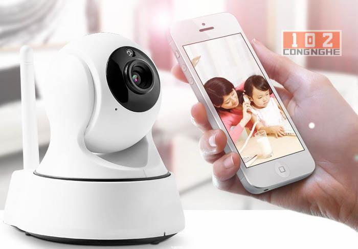 Camera IP Wifi 360 Y960 kết nối điện thoại nhanh chóng dễ dàng