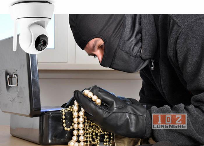 Nhanh chóng phát hiện kẻ đột nhập với Camera IP Wifi 360 Y960
