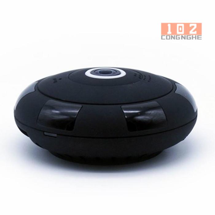 Camera IP Wifi V380 VR 2 màu đen cho thấy sự sang trọng và ẩn giấu tốt