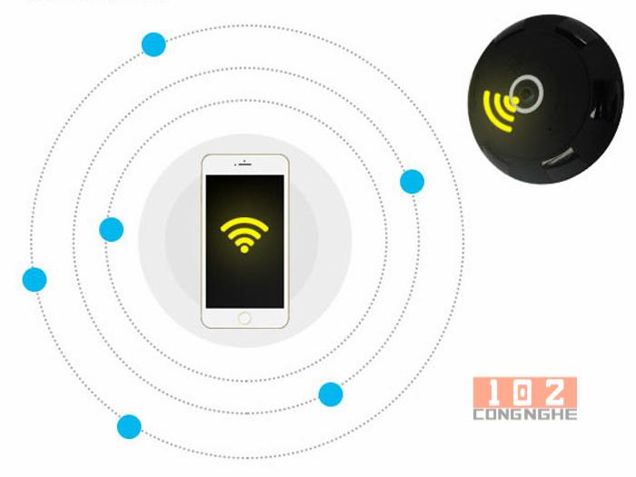 Camera IP Wifi V380 VR 2 kết nối wifi dễ dàng hơn