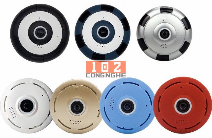 Camera IP Wifi V380 VR 2 cung cấp hơn 7 màu sắc cho bạn dễ dàng lựa chọn