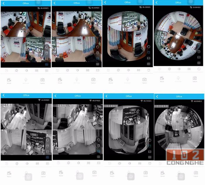 Camera IP Wifi V380 VR  xem cả ngày và đêm dễ dàng