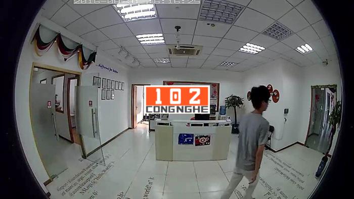 Camera IP Wifi V380 VR  phát hiện chuyển động của người lạ xâm nhập