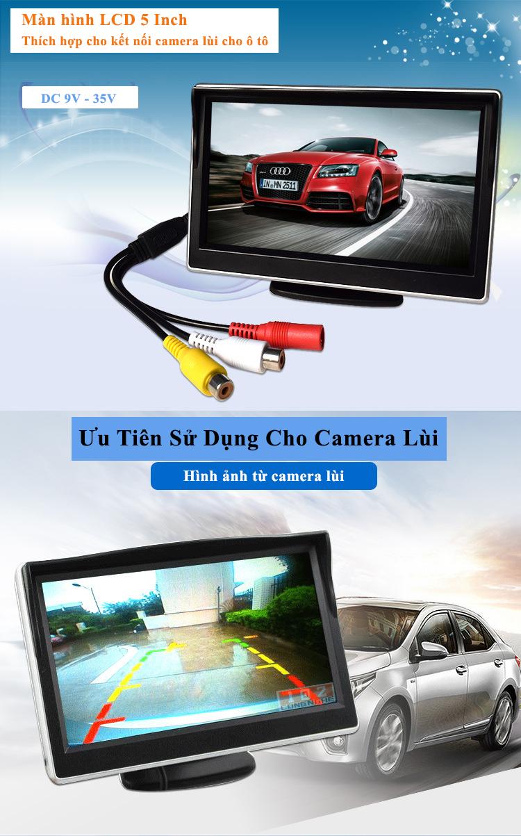 màn hình lcd 5 inch HD