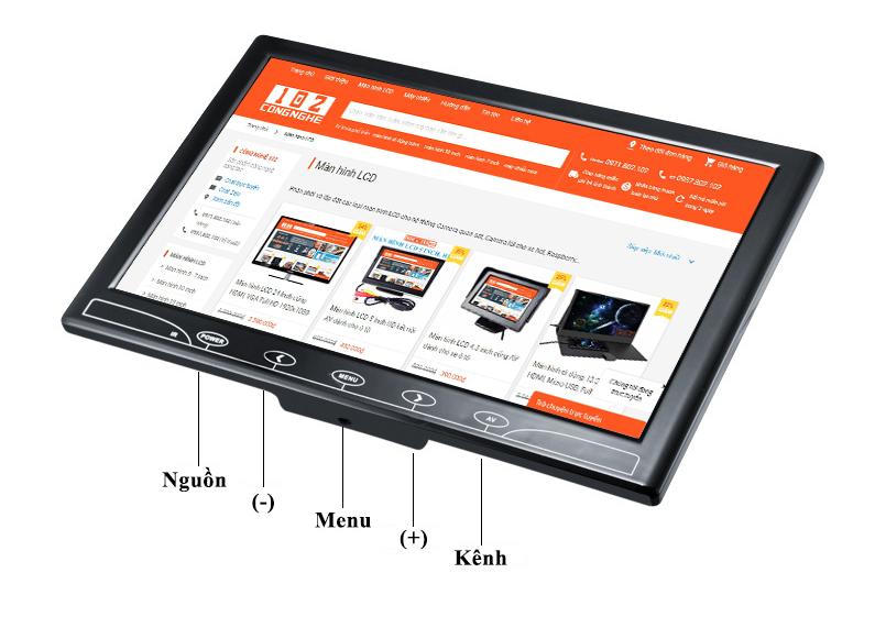 Màn hình di động 10.1 inch HDMI, VGA, AV, Wifi