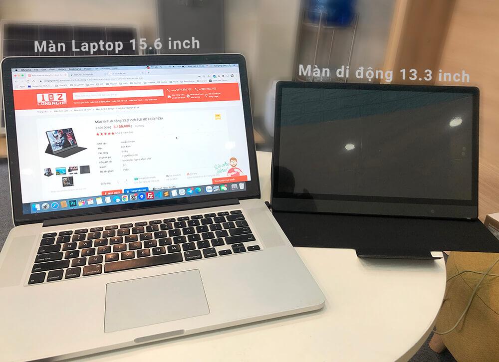 màn hình di động 13.3 inch