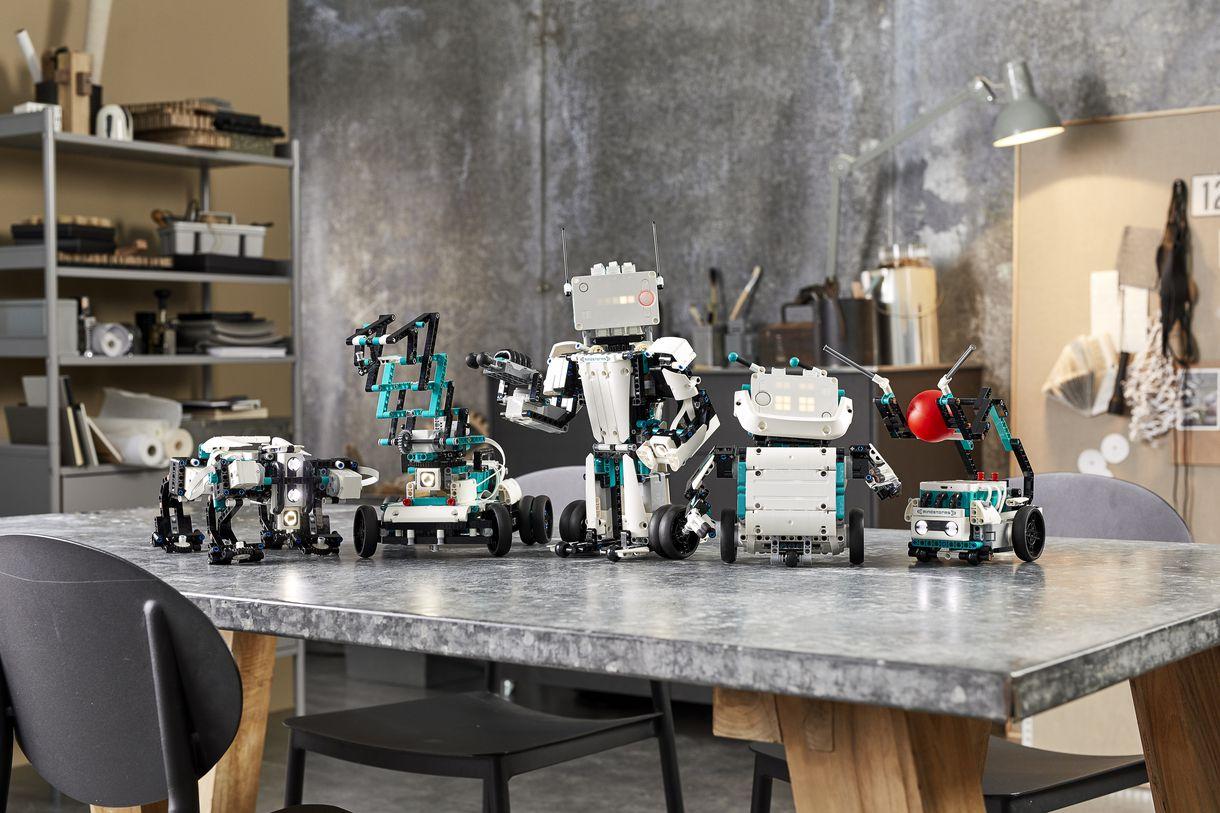 Bộ sản phẩm Mindstorms mới của Lego cho phép trẻ em tự chế tạo robot biết nói, biết đi