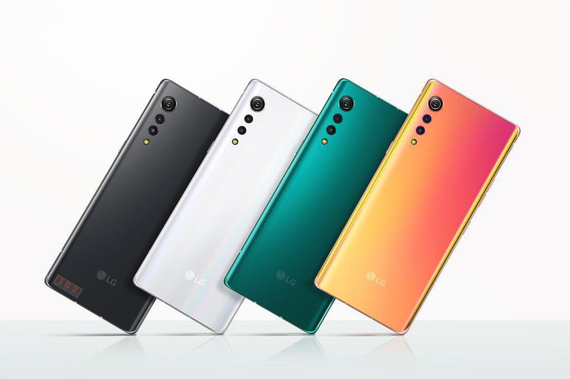 Điện thoại thông minh Velvet tầm trung sành điệu của LG được tiết lộ
