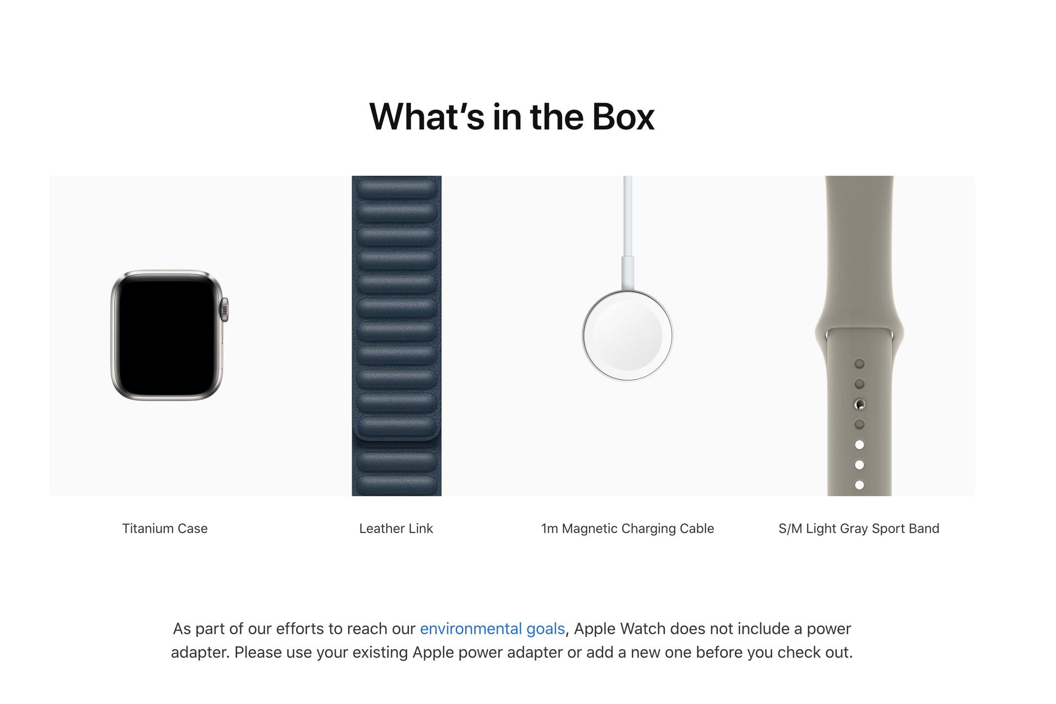Apple loại bỏ cục sạc khỏi Apple Watch Edition và Hermès