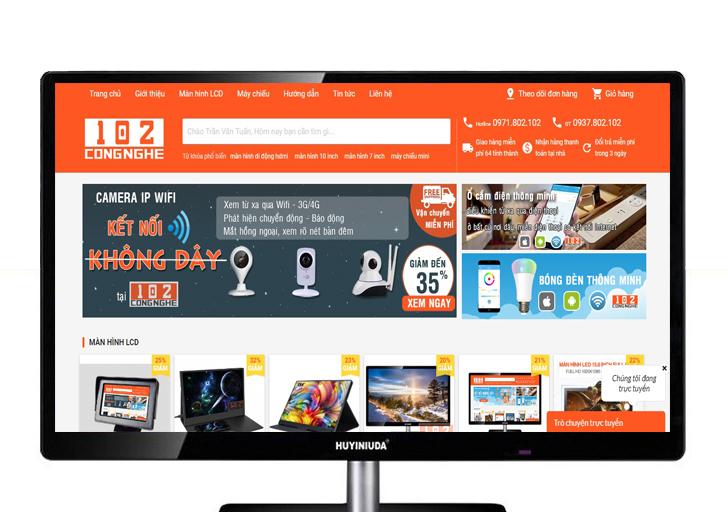 Màn hình máy tính 24 inch HDMI giá rẻ ở HCM
